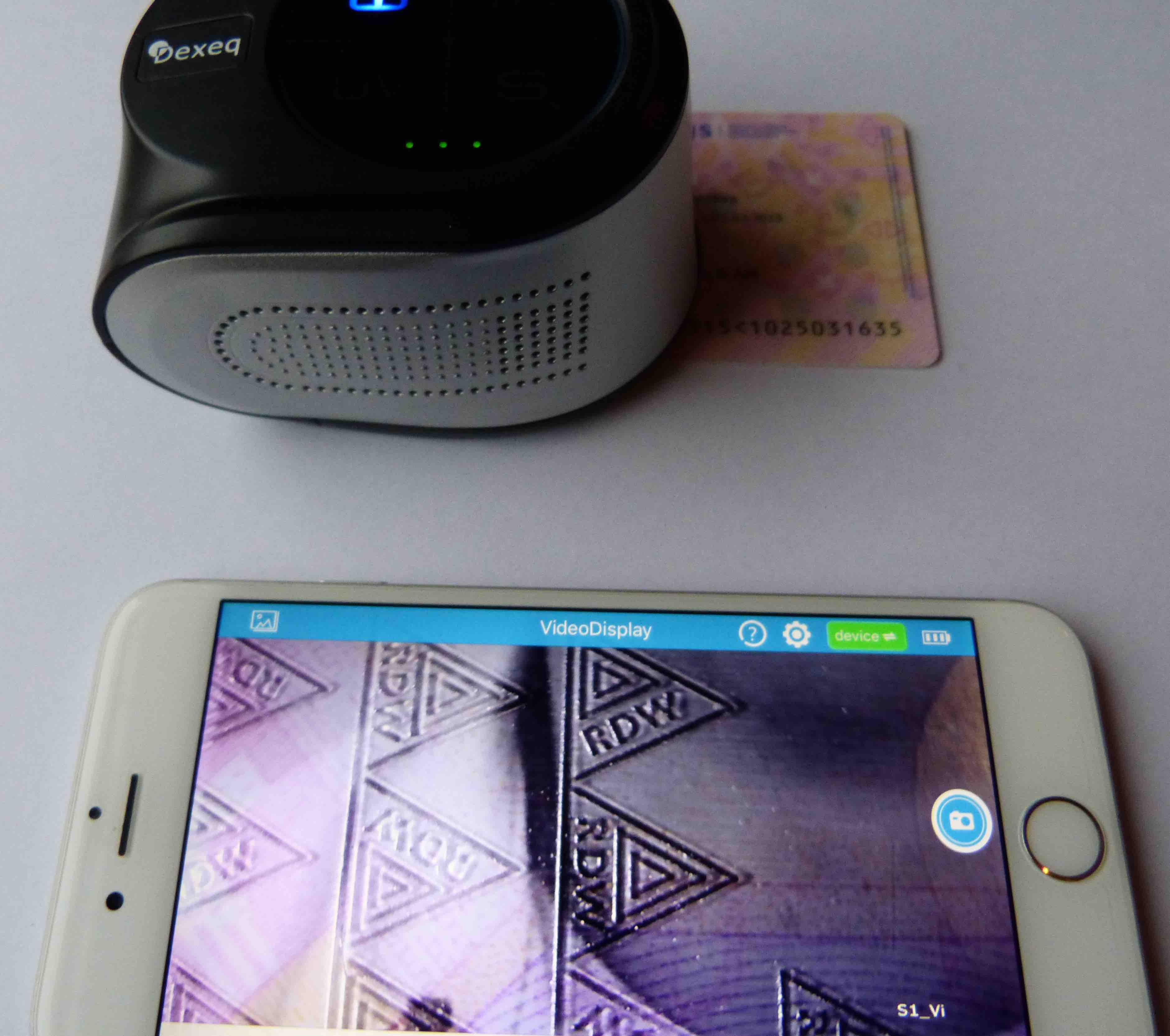 Dexeq Video Phone Inspector